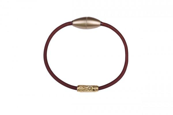 Armband Ornament Mokka / Gold