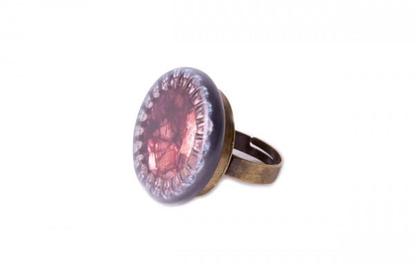 Ring Krone rot