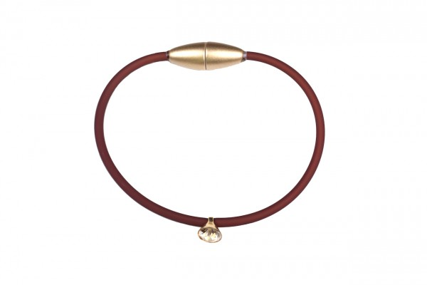 Armband Sammy Mocca/Gold/Kristall/Shadow