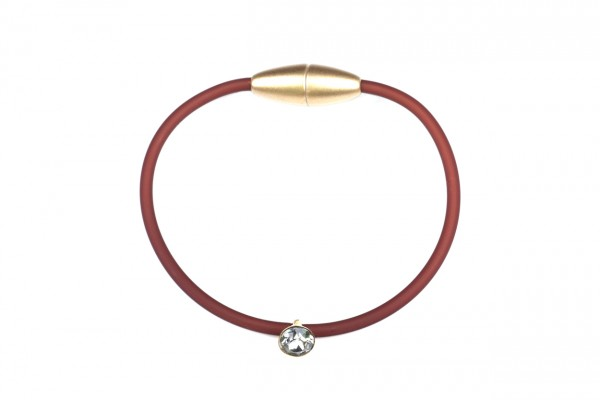 Armband Sammy Mocca / Gold / Kristall
