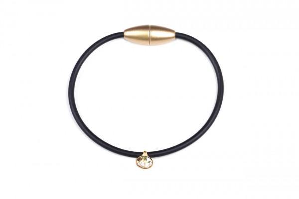 Armband Sammy Schwarz/Gold/golden Shadow